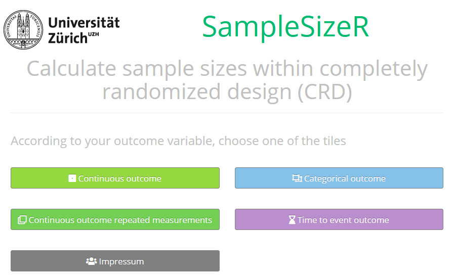 SampleSizeR